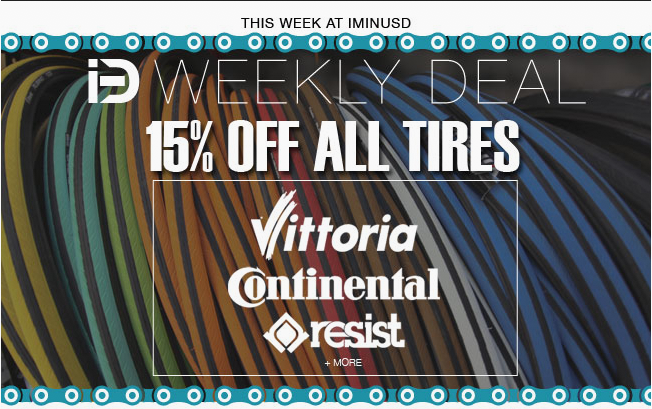 15% OFF All Tires!
