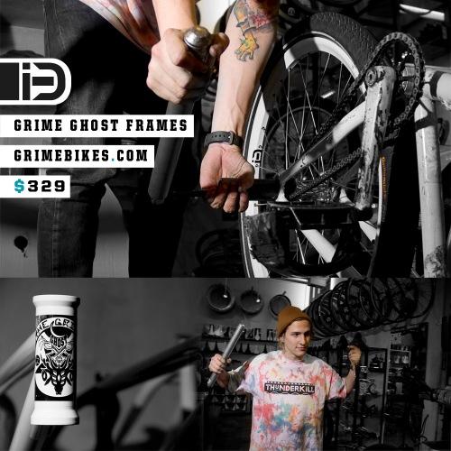 Mike Schmitt   Grime Bikes iMiNUSD Ghost Frame