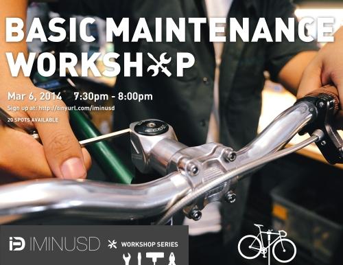 iMiNUSD Workshops: Basic Maintenance
