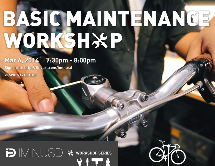 iMiNUSD Workshops: Basic Maintenance