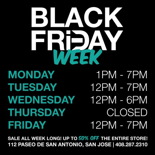 Black Friday Sched 11242014